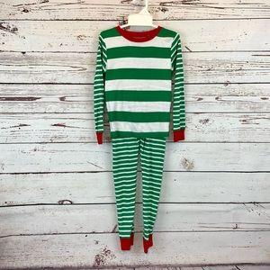 Carter's Stripes Christmas PJ's Pajamas